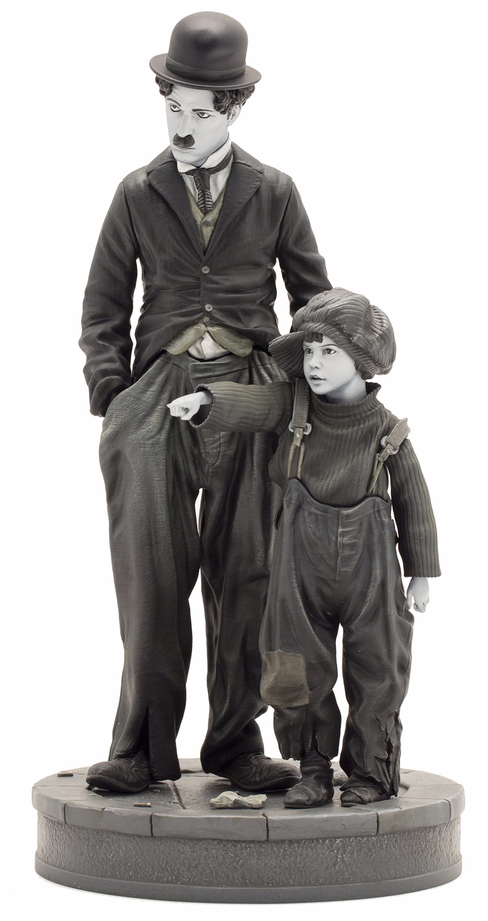 Charlie-Chaplin-O-Garoto-The-Kid-Infinite-Statue-12