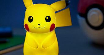 Luminária Pokémon Light-Up Pikachu