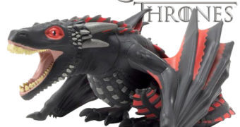 Dragão Drogon Titans Fosforescente (Game of Thrones)