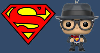Chaveiro Clark Kent Funko Pocket Pop!