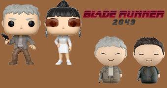 Bonecos Blade Runner 2049 Dorbz e Pop!