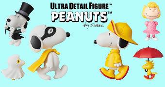 Bonecos Peanuts UDF Série 7 da Medicom Toy Japão