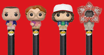 Canetas Funko Pop! Pen Stranger Things