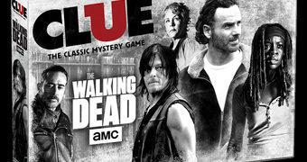 Jogo de Tabuleiro The Walking Dead Clue (Detetive)