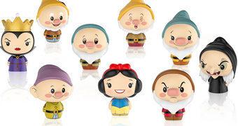 Branca de Neve e os Sete Anões Pint Size Heroes – Mini-Figuras Funko Blind-Box