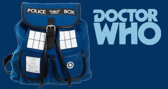 Mochila Doctor Who TARDIS Knapsack