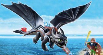 Como Treinar Seu Dragão ganha vários sets Playmobil!