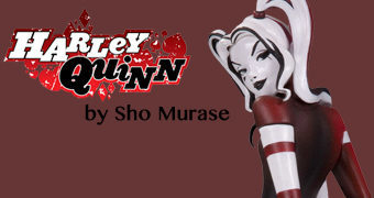 Estátua Harley Quinn por Sho Murase (DC Artists Alley)