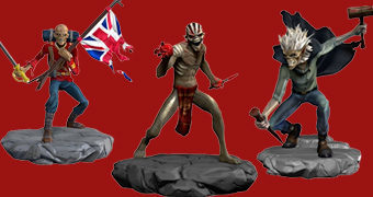 Figuras Eddie do Game Iron Maiden Legacy of the Beast