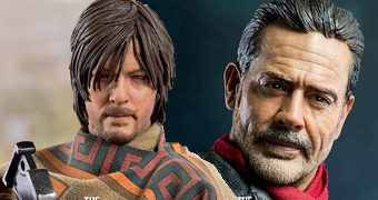 Daryl e Negan Escala 1:6 – Action Figures Perfeitas Threezero Toys The Walking Dead
