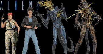 "Action Figures Alien 7"" Série 12: Hadley's Hope"