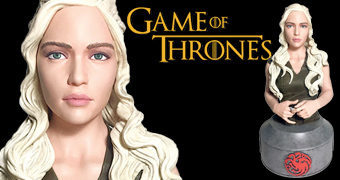 Busto Game of Thrones: Daenerys Targaryen Mãe de Dragões (Dark Horse)