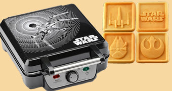 Máquina de Waffles Quadrados Star Wars
