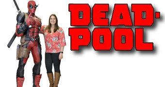 Estátua Deadpool em Tamanho Real com 1,82m de Altura!