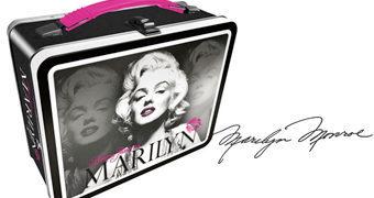 Lancheira de Lata Marilyn Monroe