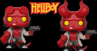 Bonecos Pop! Hellboy Comics