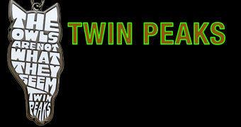 """Chaveiro Twin Peaks """"As corujas não são o que parecem"""" (David Lynch)"""