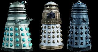 Parlamento Dalek com 10 Figuras da Série Doctor Who