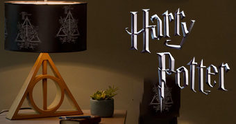 Abajur Harry Potter As Relíquias da Morte