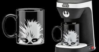 Cafeteira Star Wars com Caneca Chewbacca