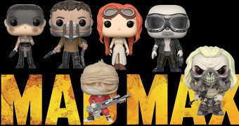 Bonecos Pop! Mad Max: Fury Road