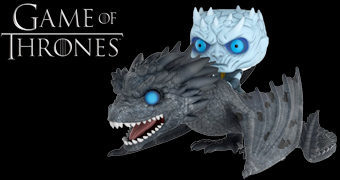 Night King no Dragão de Gelo Viserion – Game of Thrones Pop! Rides