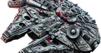 Millennium Falcon LEGO ganha nova versão com mais de 7500 peças!