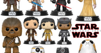 Bonecos Pop! Star Wars: Os Últimos Jedi