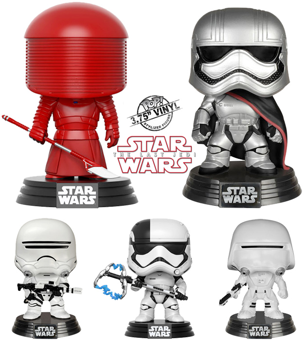 c829fa496998 E mais o Supreme Leader Snoke, Praetorian Guard, Captain Phasma, First  Order Flametrooper, First Order Snowtrooper e First Order Executioner.