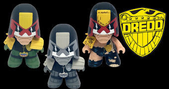 Bonecos Judge Dredd TITANS Mini