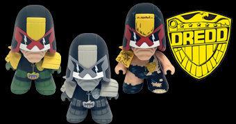 Bonecos Judge Dredd TITANS Mini
