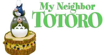 Caixa de Música Meu Amigo Totoro (Hayao Miyazaki)