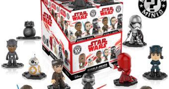 Star Wars: Os Últimos Jedi Mystery Minis – Mini-Figuras Funko Blind-Box