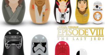 Bonecas Russas Matryoshkas Star Wars: Os Últimos Jedi