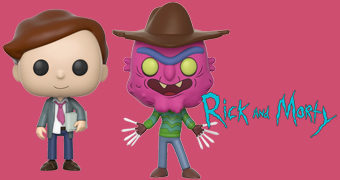 Bonecos Pop! Rick and Morty (Série 3)