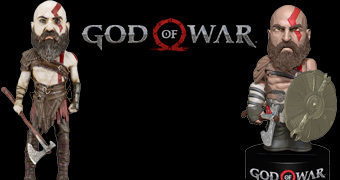 Kratos God of War 2018 – Bonecos Bobble Heads Neca