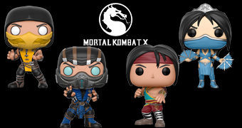 Bonecos Pop! Mortal Kombat X