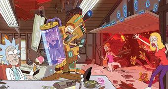 Quebra-Cabeça Rick and Morty com 550 Peças