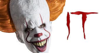 Máscara de Látex Palhaço Pennywise – It: A Coisa de Stephen King