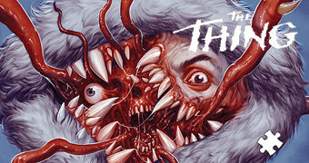 Quebra-Cabeça do Filme O Enigma de Outro Mundo (The Thing) de John Carpenter