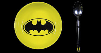 Tigela e Colher Batman Breakfast Set