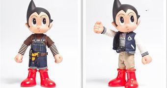 Bonecos Astro Boy Master Series 11 e 12 (Osamu Tezuka)