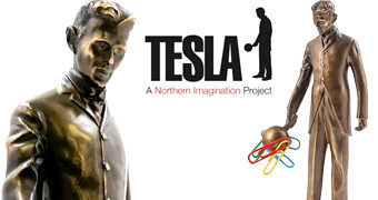 Estátua Magnética Nikola Tesla