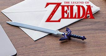 Abridor de Cartas Espada Master Sword Legend of Zelda