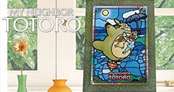 Quebra-Cabeça Vitral Meu Amigo Totoro Artcrystal (Hayao Miyazaki)