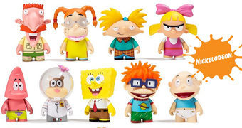 Mini-Figuras Kidrobot Nickelodeon Nick 90's Blind Box Mini Series