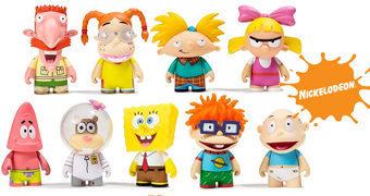 Mini-Figuras Kidrobot Nickelodeon Nick 90's Blind Box Mini Series
