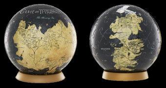 Quebra-Cabeça Esférico Game of Thrones: Westeros e Essos Globe Puzzle