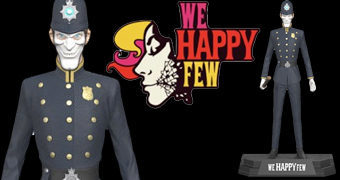 Action Figure Bobby do Videogame We Happy Few