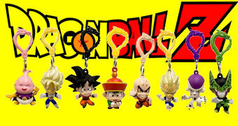 Chaveiros Dragon Ball Z Figure Hangers